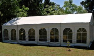 6 x 12 Marquee with Windows